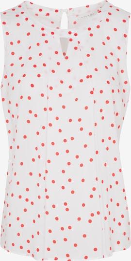 ETERNA Bluse in rot / weiß, Produktansicht