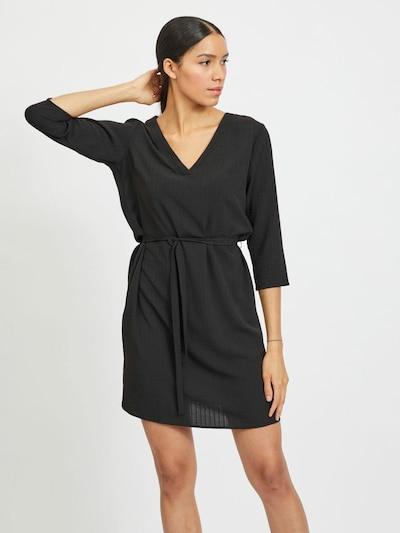 VILA Kleid 'VILOVIE' in schwarz, Modelansicht
