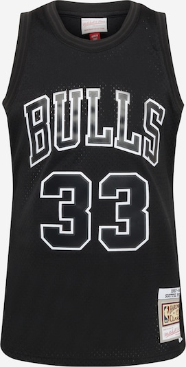 Mitchell & Ness Shirt in Black / White, Item view