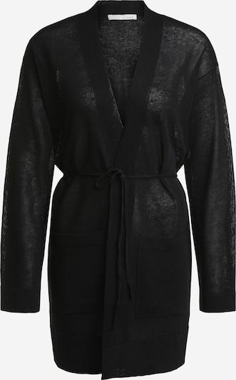 OUI Gebreide mantel in de kleur Zwart, Productweergave