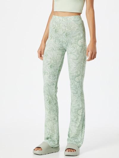 Envii Leggings 'MARGAUX' in pastellgrün / hellgrün, Modelansicht