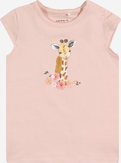 NAME IT Shirt 'JEANET' in mischfarben / rosa, Produktansicht