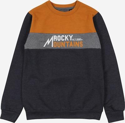 LEMON BERET Sweatshirt in ocker / grau / dunkelgrau / weiß, Produktansicht