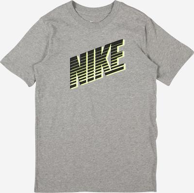 Nike Sportswear Tričko - žlutá / šedý melír / černá / bílá, Produkt