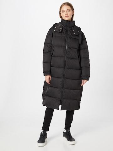 juoda HUGO Žieminis paltas 'Favina'