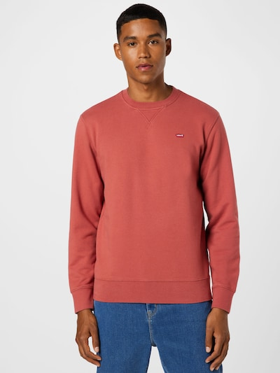 LEVI'S Sweatshirt in de kleur Pastelrood: Vooraanzicht