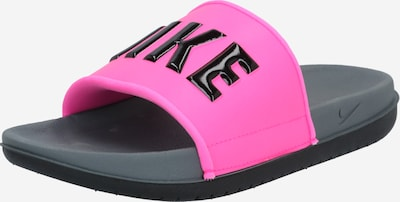 sötét-rózsaszín / fekete Nike Sportswear Papucs 'Offcourt', Termék nézet