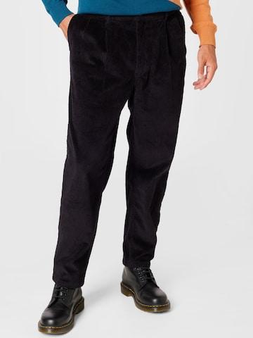 DEDICATED. Bukse med strøket legg i livet i svart