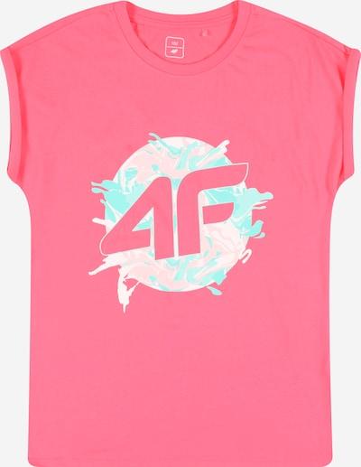 4F Funkčné tričko - svetlomodrá / koralová / ružová / biela, Produkt