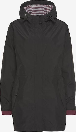 POLARINO Outdoorjacke in schwarz, Produktansicht