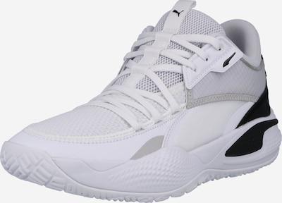 PUMA Sporta apavi 'Court Rider', krāsa - melns / balts, Preces skats