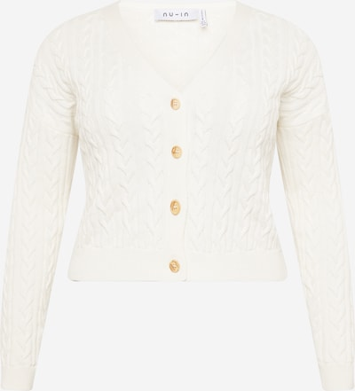 NU-IN Plus Strickjacke in weiß, Produktansicht