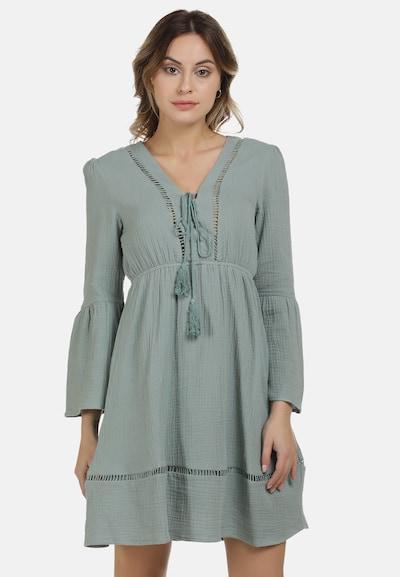 DreiMaster Vintage Kleid in pastellgrün, Modelansicht