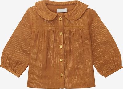 Noppies Bluse 'Sheffield' in braun / gold, Produktansicht
