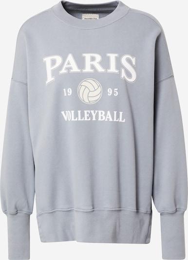 Abercrombie & Fitch Bluzka sportowa w kolorze podpalany niebieski / białym, Podgląd produktu