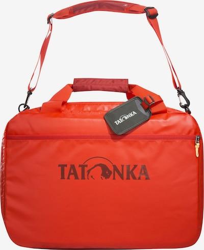 TATONKA Reisetasche 'Flight Barrel ' in rot / schwarz, Produktansicht