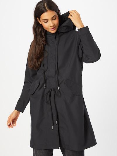 ABOUT YOU Přechodný kabát 'Denise' - černá, Model/ka