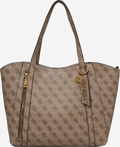 GUESS Shopper i brun / lysebrun, Produktvisning