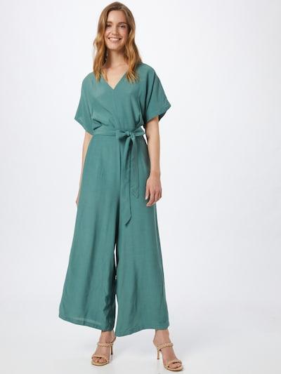 Kauf Dich Glücklich Jumpsuit in de kleur Jade groen, Modelweergave