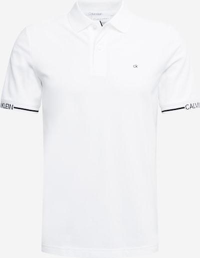 Calvin Klein Poloshirt in schwarz / weiß, Produktansicht
