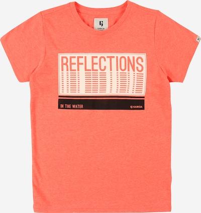 GARCIA Majica u boja pijeska / koraljna / crna, Pregled proizvoda