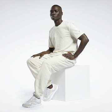 Pantalon Reebok Classics en blanc