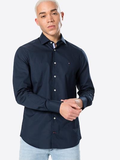 Tommy Hilfiger Tailored Риза в нейви синьо / червено / бяло, Преглед на модела