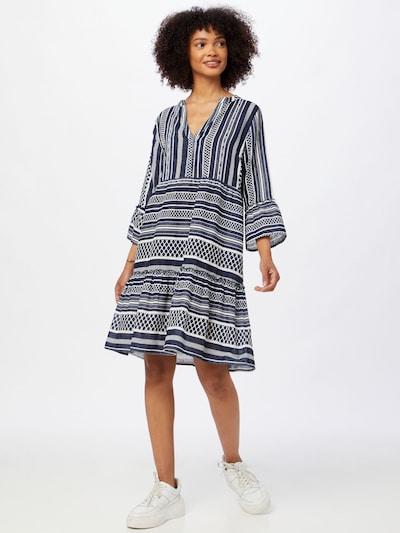 ABOUT YOU Kleid 'Marit' in navy / weiß, Modelansicht
