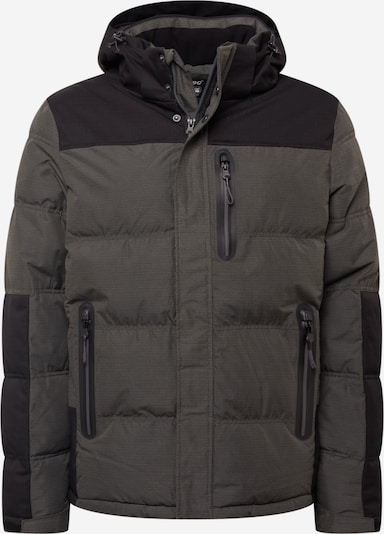 KILLTEC Jacke in schlammfarben / schwarz, Produktansicht