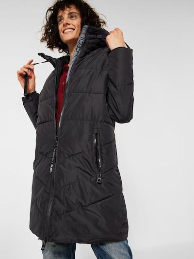CECIL Mantel in schwarz, Modelansicht