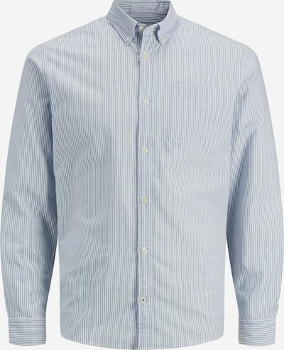 JACK & JONES Krekls 'Offord', krāsa - zils / balts, Preces skats