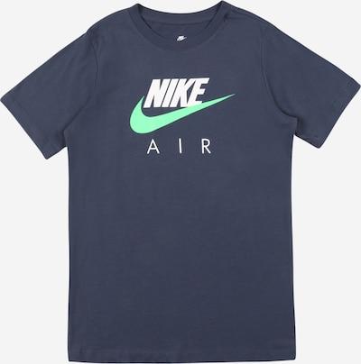 NIKE T-Shirt in marine / mint / weiß, Produktansicht