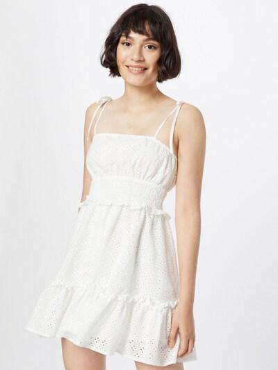 Rochie de vară Missguided pe alb, Vizualizare model