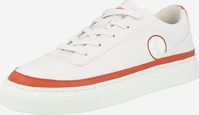Komrads Baskets basses 'APL' en rouge foncé / blanc, Vue avec produit