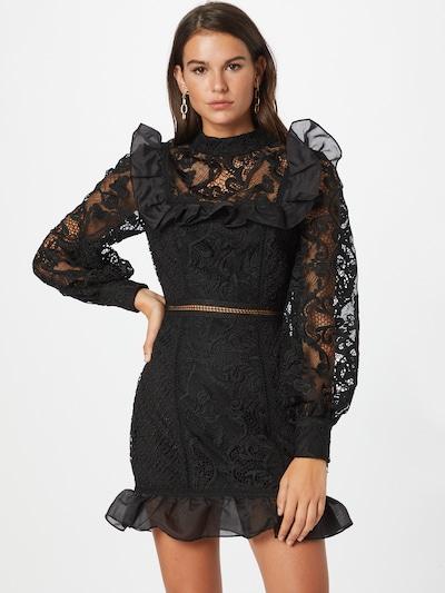 True Decadence Cocktailjurk in de kleur Zwart, Modelweergave