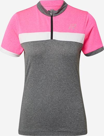 Rukka Koszulka funkcyjna 'RASKOG' w kolorze szary / różowy / białym, Podgląd produktu