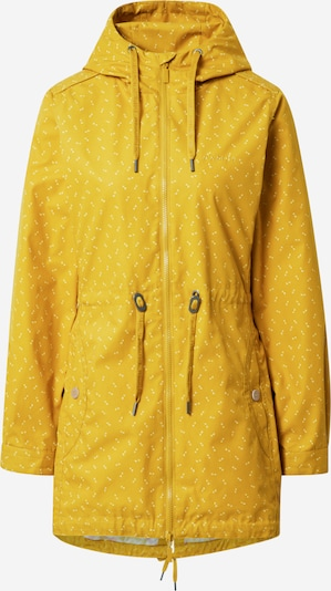 mazine Between-seasons parka 'Library' in Mustard / White, Item view