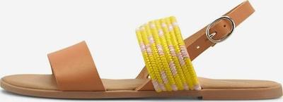 COX Riemchensandalen Trend-Sandale in gelb / mischfarben, Produktansicht
