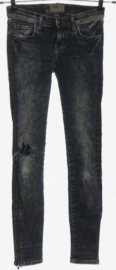 LTB High Waist Jeans in 25-26 in blau / weiß, Produktansicht