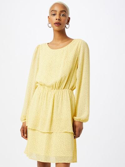 MOSS COPENHAGEN Kleid 'Linoa Rikkelie' in gelb / schwarz, Modelansicht