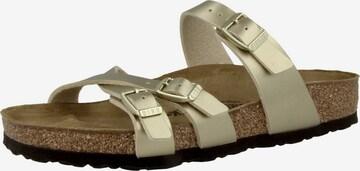 BIRKENSTOCK Sandale 'Franca' in Gold