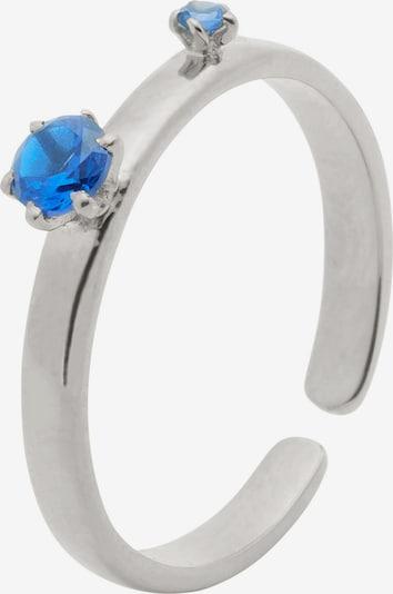 Bound Studios Ring in blau / silber, Produktansicht