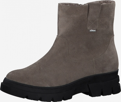 s.Oliver Ankle Boots in Taupe, Item view