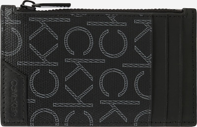 Calvin Klein Несесер в светлосиво / черно, Преглед на продукта