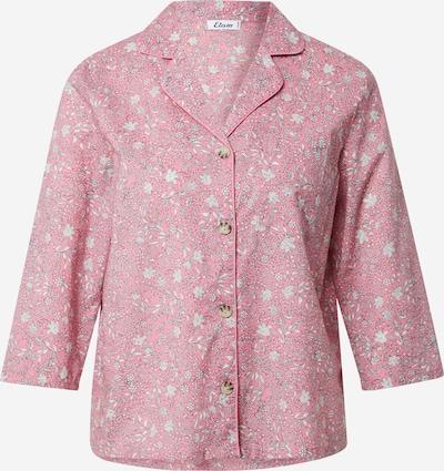 ETAM Chemise de nuit 'LILIE' en gris / rose / blanc, Vue avec produit
