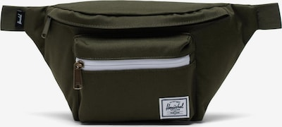 Herschel Torba na pasek 'Seventeen' w kolorze oliwkowy / białym, Podgląd produktu