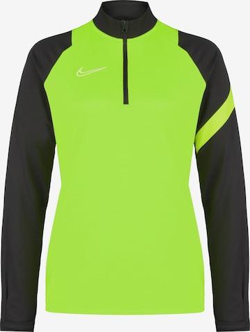 NIKE Athletic Sweatshirt in Green