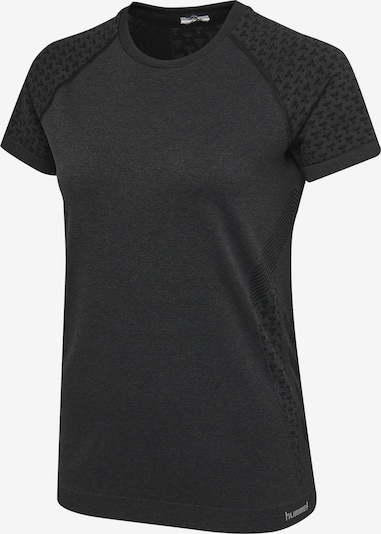 Hummel T-shirt S/S in schwarz, Produktansicht