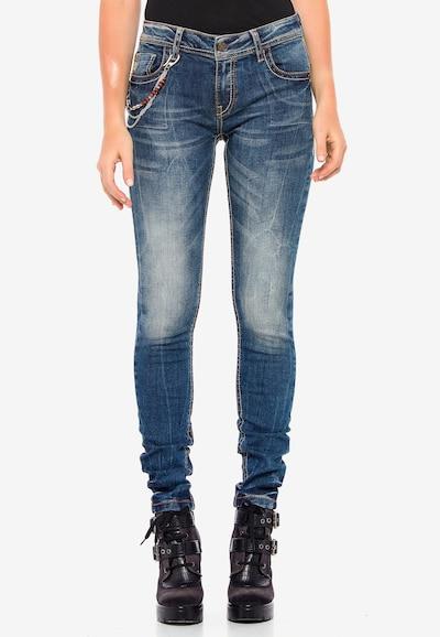 CIPO & BAXX Jeans in de kleur Blauw, Modelweergave