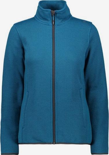 CMP Jacke ' Knitted ' in blau, Produktansicht